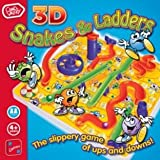 3D Snakes and Ladders Board Game (339041033)