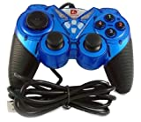 USB GAMES JOYPAD CONTROLLER JOYSTICK VIBRATION GAMEPAD DUAL