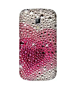Sparkly Heart Samsung Galaxy S Duos S7562 Case
