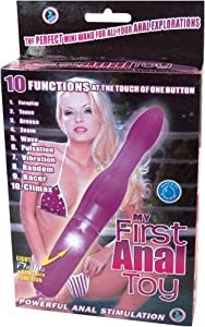 My First Anal Toy Purple