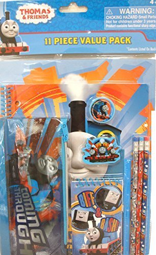 Thomas the Train Tank Stationery Set 11 Pieces Value Pack 4+ Only - 1