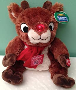 Amazon Com Rudolph The Red Nosed Reindeer Musical Plush