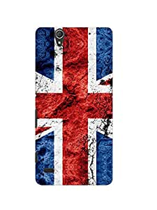 Print tech back cover for sony xperia C4