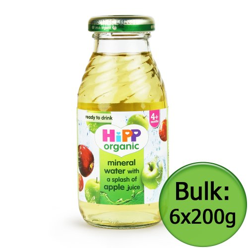 Hipp Mineral Water- Splash of Apple Juice 6x200ml