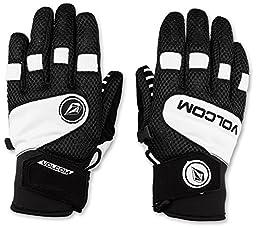 Volcom Men\'s USSTC Pipe Glove, White, Large