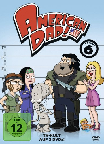 American Dad - Volume 6 [3 DVDs]