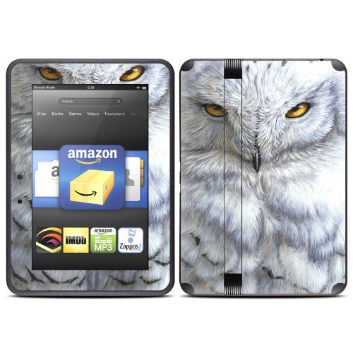 snowy-owl-design-protective-decal-skin-sticker-high-gloss-coating-for-amazon-kindle-fire-hd-7-inch-r
