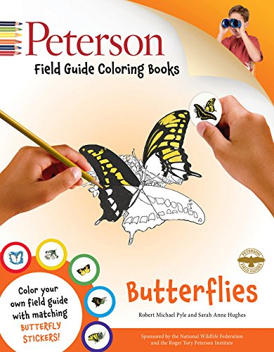 Peterson Field Guide Coloring Books: Butterflies (Peterson Field Guide Color-In Books)
