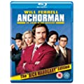 Anchorman: The Legend of Ron Burgundy (2-Disc Extended Cut) [Blu-ray]