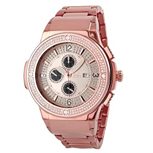 JBW Men's JB-6101-164-D Saxon Multifunction 2.00 Carat Diamond Watch