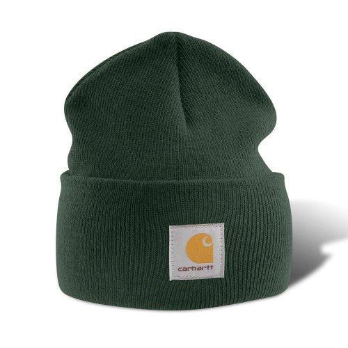 carhartt-a18-watch-beanie-hat-dunkelgrun