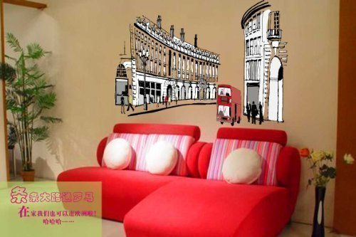 walplus-wall-stickers-london-regent-street-removable-self-adhesive-mural-art-decals-vinyl-home-decor