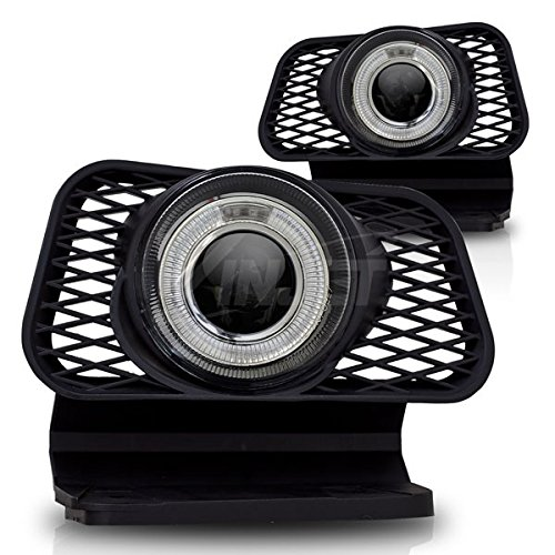 Rx3 03-07 Chevy Silverado / 02-06 Chevy Avalanche With Out Body Cladding Halo Projector Fog Lights - (Clear)