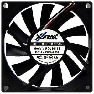 X-FAN 80mmファン RDL8015S