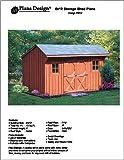 6' X 12' Saltbox Storage Shed/playhouse Plans -Design #70612
