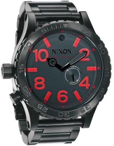 NIXON (ニクソン) 腕時計 THE 51-30 GUNMETAL NA057131-00 メンズ [正規輸入品]