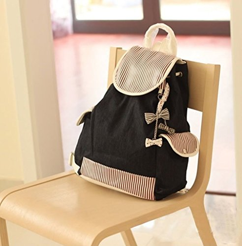 Girl Fashion New Canvas Backpack School Bag Laptop Bag