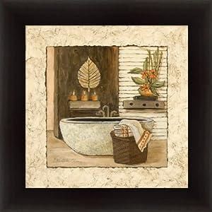 Amazon.com - Feng Shui Bath I by Charlene Olson Asian Bathroom