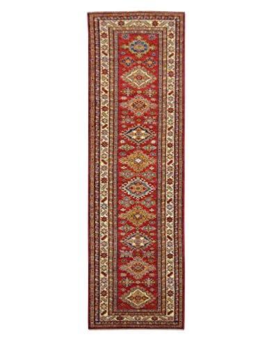 Kalaty One-of-a-Kind Kazak Rug, Red, 2' 7 x 10' Runner