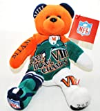 Miami Dolphins vs Minnesota Vikings RARE Offical NFL Super Bowl VIII(8) Collectable Plush Bear at Amazon.com