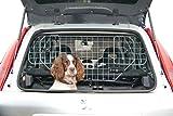Speedwellstar Schutzgitter für Kofferraum, für Hunde, verstellbar, zur Befestigung an den Kopfstützen