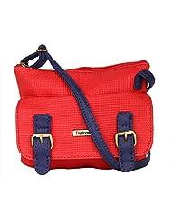 Peprone Women's  Sling Bag (Red)