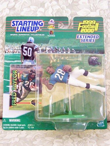 1999 NFL Starting Lineup Extended Series - Fred Taylor - Jacksonville Jaguars