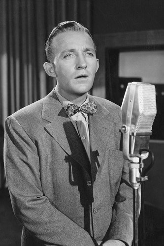 Bing Crosby Iconic Image By Microphone 24X36 Poster