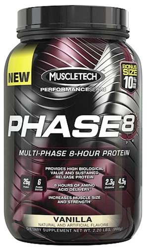 Muscletech Products - Phase8 Performance Series