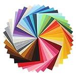 KINGSO 42PCS Assorted Color Felt Fabr...