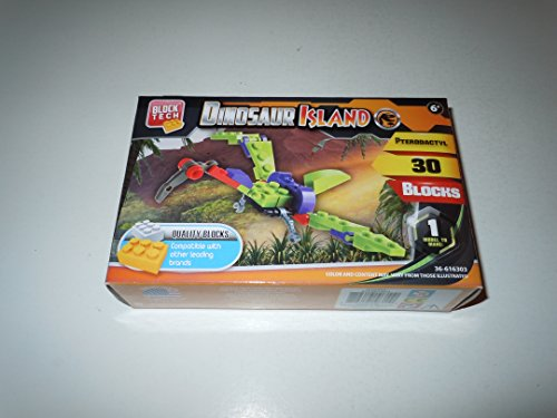 Block Tech Dinosaur Island Pterodactyl 30 Pieces