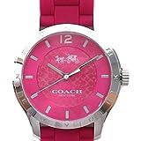 コーチ COACH 時計 腕時計 レディース マディ シグネチャーC ステンレス ウォッチ シリコン ラバー ベルト 腕時計 アウトレット W6033 DUL コーチ COACH メンズ レディース