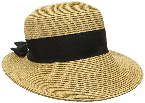 scala-womens-paper-braid-hat-with-dimensional-brim-tea-one-size