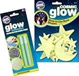 The Original Glowstars Company Cosmic Glow Moon, Stars and Glow Creations Glow-in-the-Dark Pens