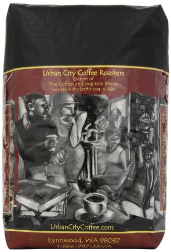 Urban City Coffee Broadway Whole Bean, 80-Ounce Bags
