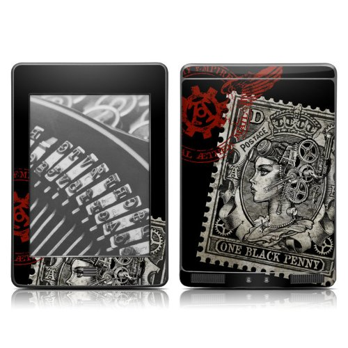 DecalGirl Kindle Touch Skin - Black Penny (does