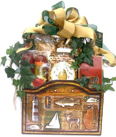 The Outdoorsman: Gourmet Gift Basket