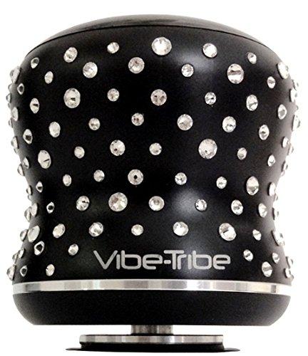 Vibe-Tribe Mamba Limited Edition - Crystals from Swarovski®: Altoparlante a Vibrazione Bluetooth 18W, Touch Panel, Vivavoce, Daisy Chain