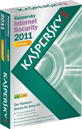 Kaspersky Internet Security 2011 - Upgrade (Lizenz für 3 PCs /  kostenlose Upgrademöglichkeit auf die aktuelle Version)