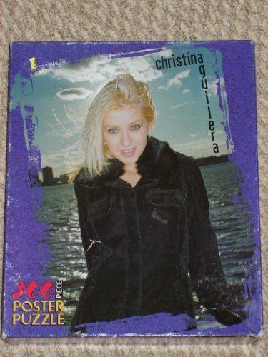 Milton Bradley Christina Aguilera Poster Jigsaw Puzzle 300 Pieces (2000) - 1