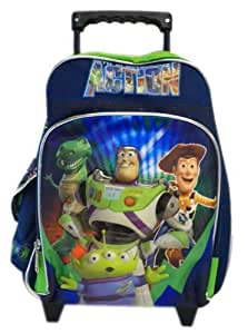 small toy story rolling backpack disney kids luggage with wheels sports outdoors. Black Bedroom Furniture Sets. Home Design Ideas