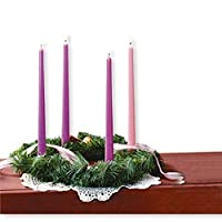 Christmas Artificial Pine Advent Wreath for Advent Celebration from CB
