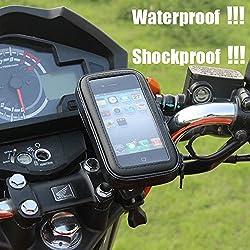 Aeoss ® Waterproof Smartphone Mobile Phone Holder Stand bike Bicycle Motorcycle Gps