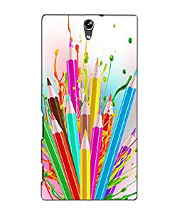 3D instyler DIGITAL PRINTED BACK COVER FOR SONY XPERIA C5