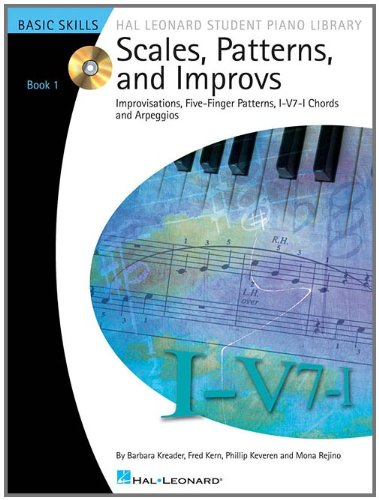 Scales, Patterns and Improvs - Book 1 - Book/CD Pack:...