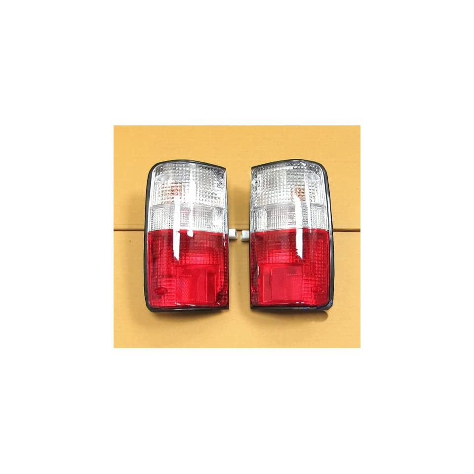 Toyota Hilux Rn85 Ln106 Ute Mk3 Pickup Clear Red Taillamp Tail Light Pair Lh Rh 89 90 91 92 93 94 95 96 95 97  Automotive Electronic Security Products