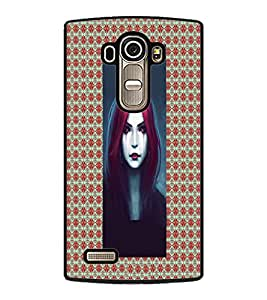 PrintDhaba Crying Girl D-5076 Back Case Cover for LG G4 (Multi-Coloured)