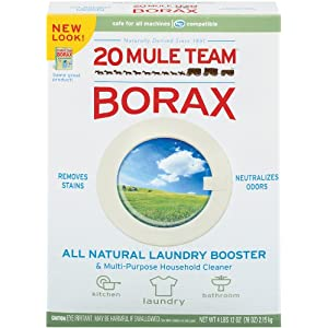 Twenty Mule Team Natural Laundry Booster & Multi-Purpose Cleaner-76 oz.