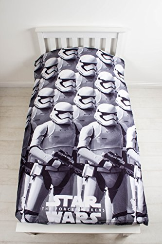 100 prozent microfaser character world star wars episode 7 awaken einzelbettw sche set. Black Bedroom Furniture Sets. Home Design Ideas
