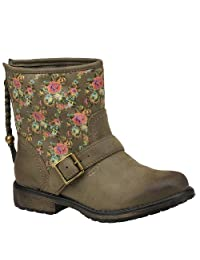 Roxy Girls' Youth Weston Trend Boots-Olive